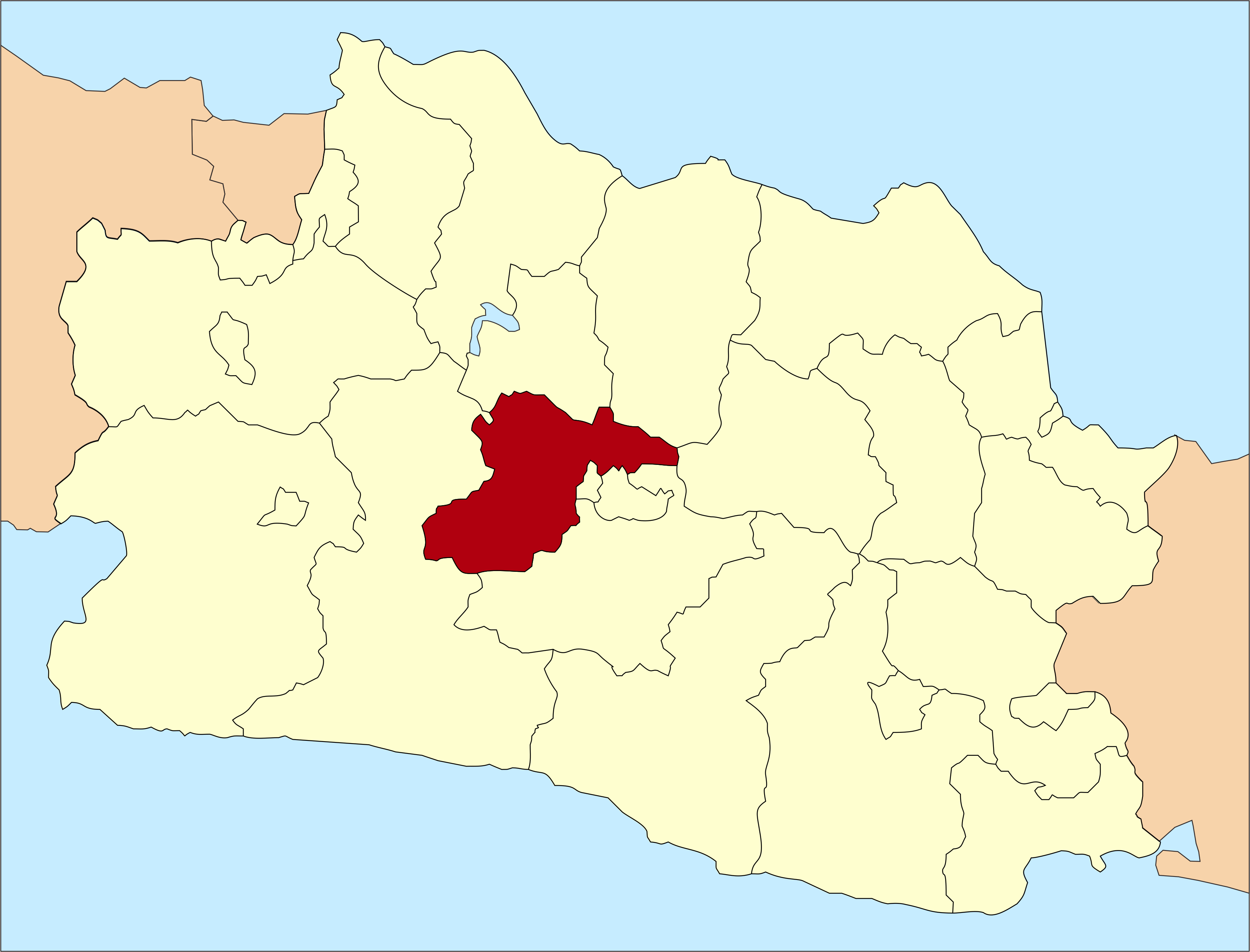 West-Bandung in West-Java