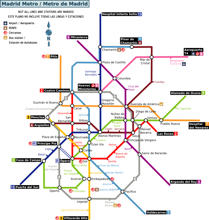 FileMadrid metro mappng  Wikimedia Commons