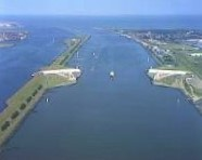 ship canal in the Netherlands