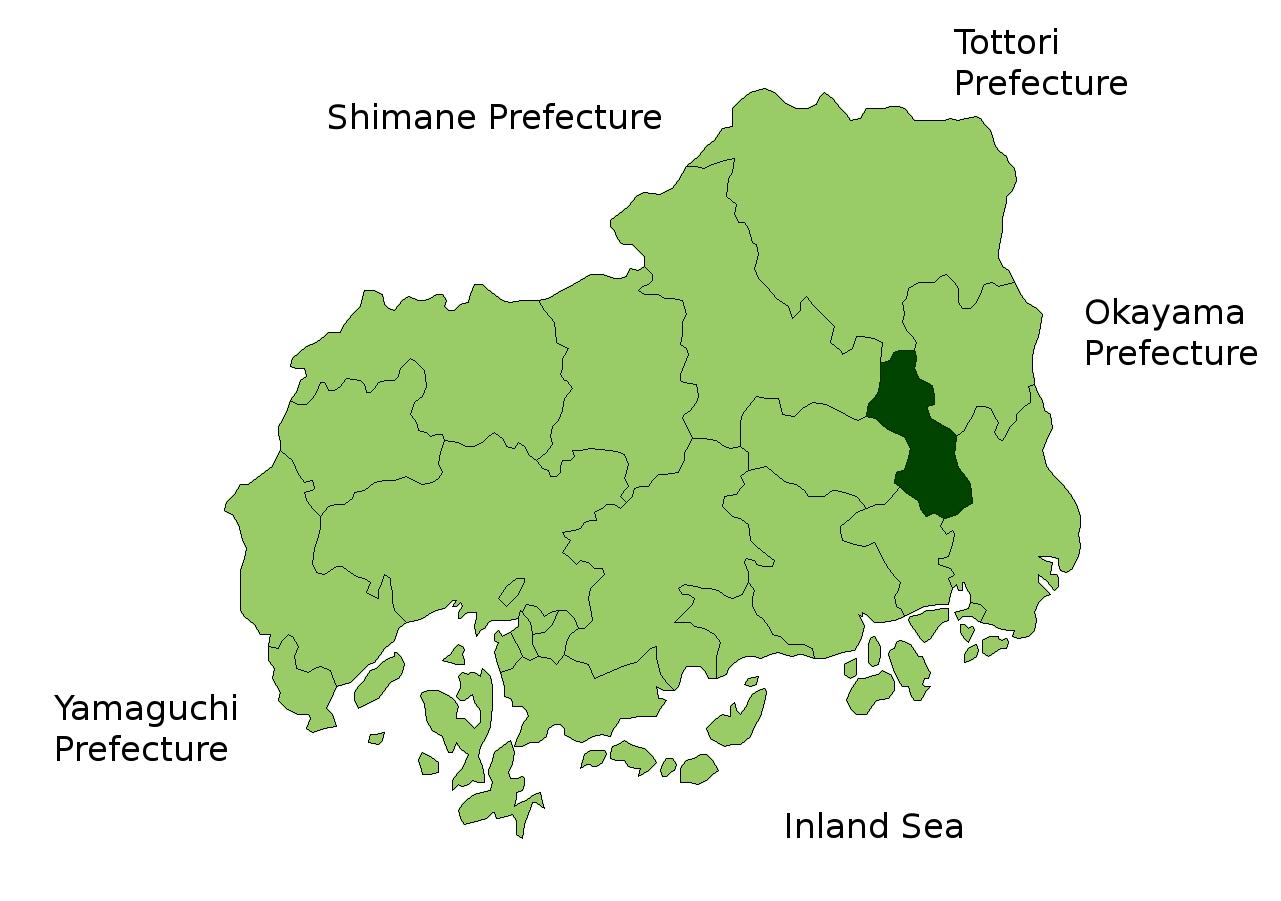 FileMap Fuchu Hiroshima Enpng Wikimedia Commons - Fuchu map