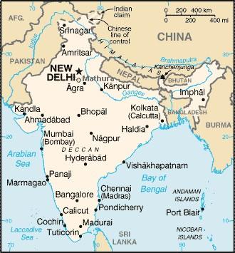 Map India Mathura