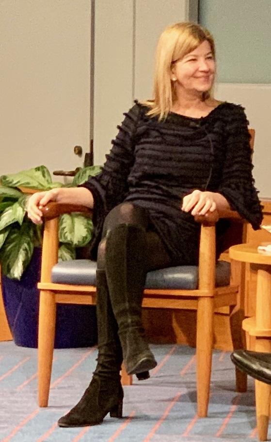 File:Maya MacGuineas at Dallas Federal Reserve Bank Forum