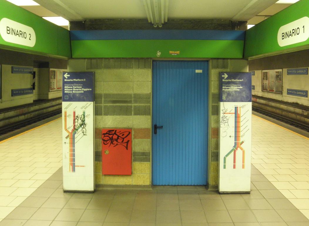 Stazione di milano porta garibaldi passante wikipedia - Passante ferroviario porta garibaldi ...