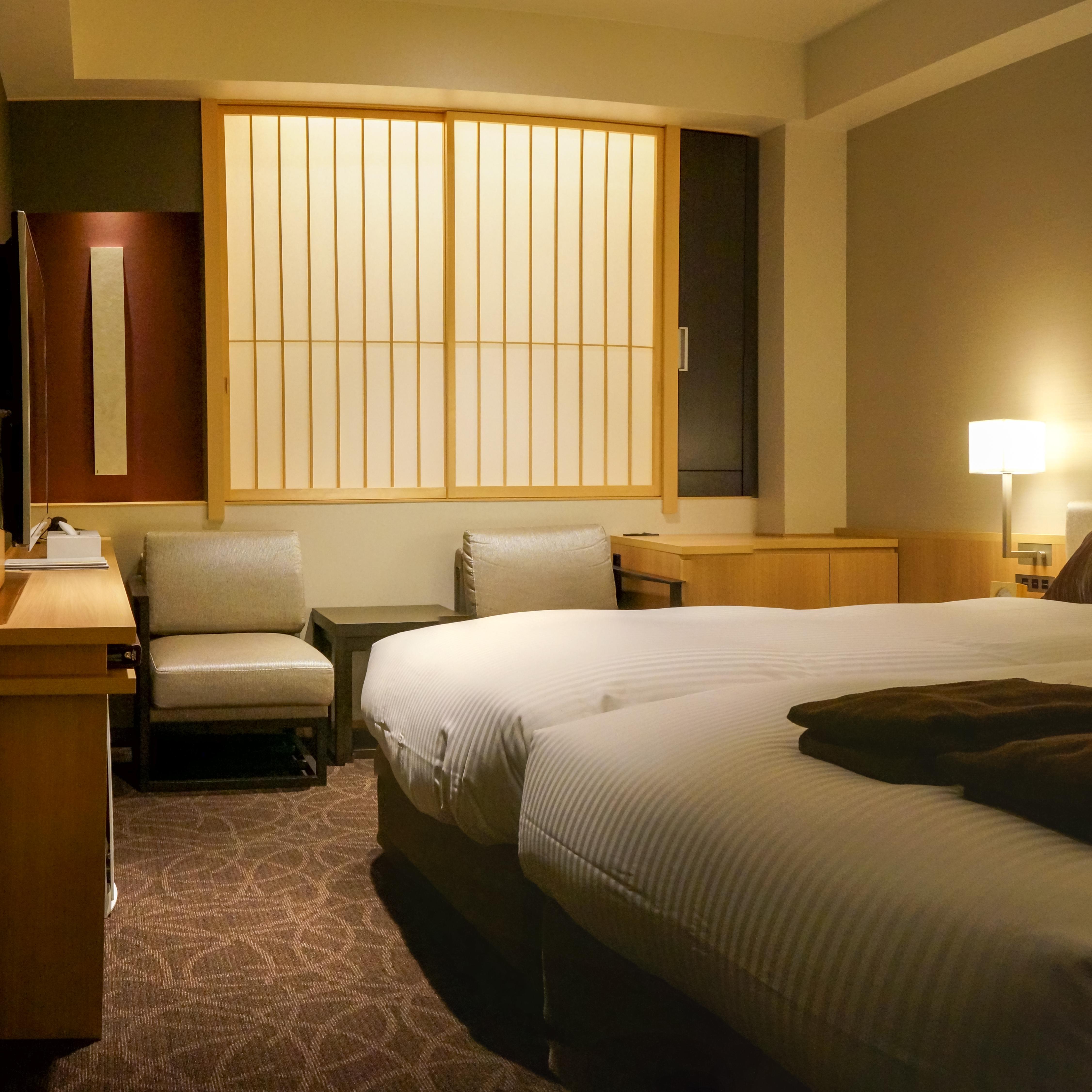 Superb File:Mitsui Garden Hotel Kyoto Shinmachi Bettei Moderate Twin Bedroom  20140506 001