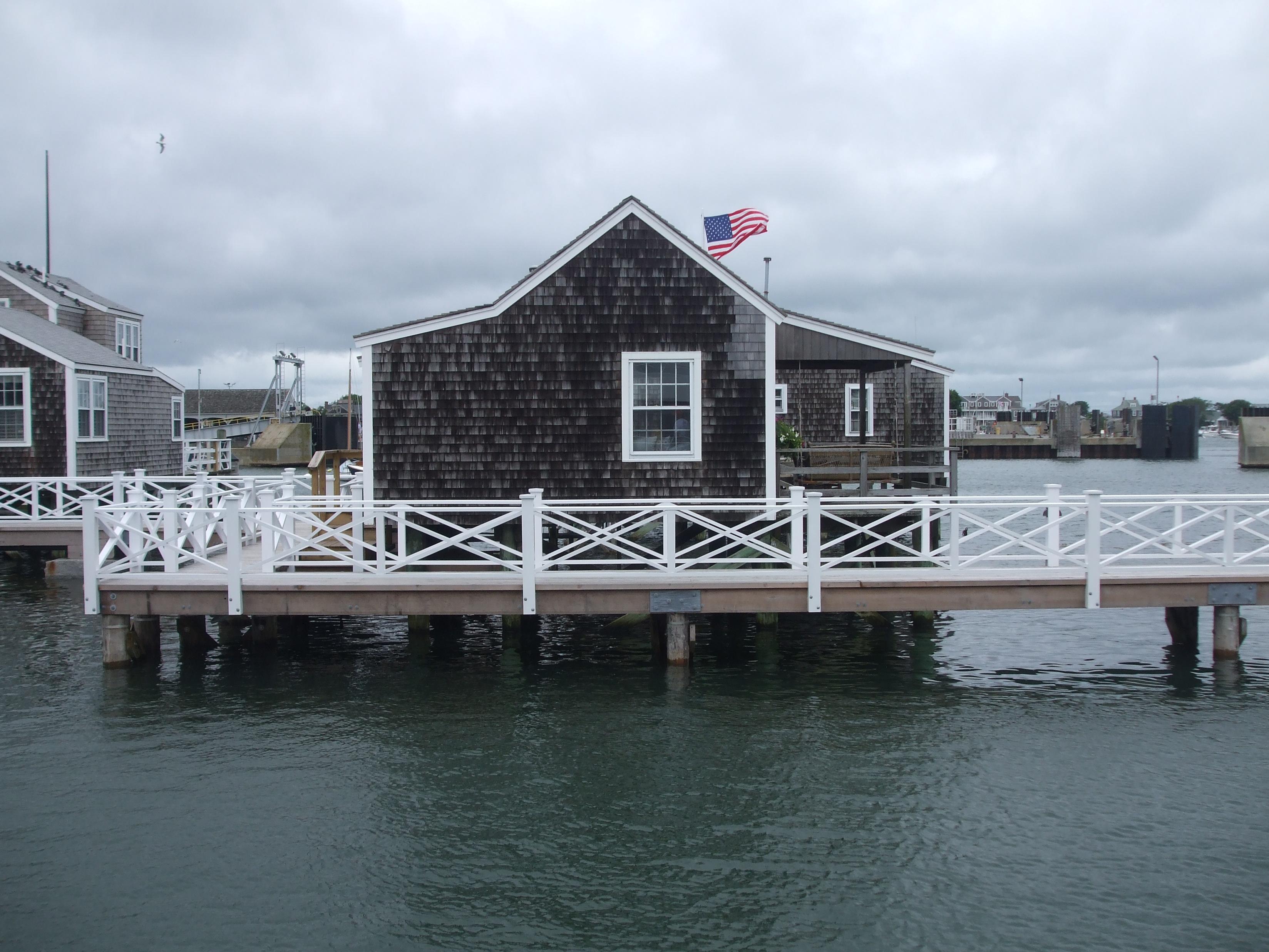 file nantucket harbor old north wharf wharf shack ma. Black Bedroom Furniture Sets. Home Design Ideas