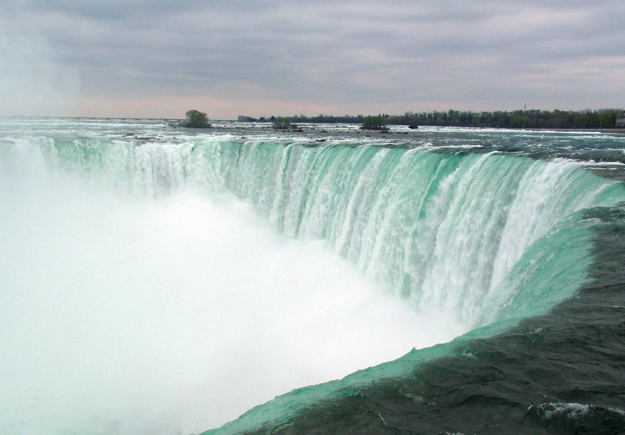 Niagara Falls (ON) Canada  City pictures : Description Niagara Falls. The Horseshoe Falls Canada panoramio ...