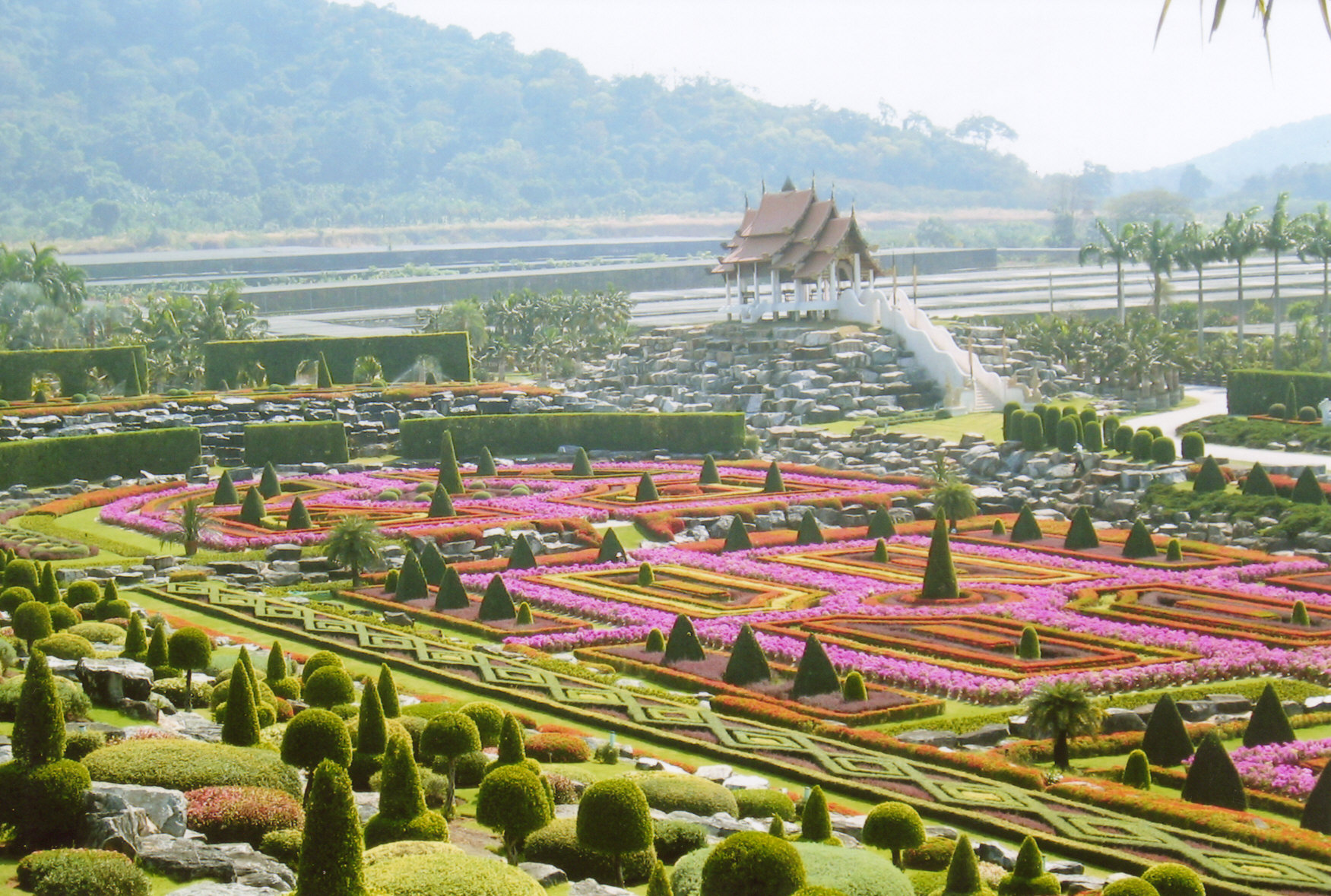 Image result for Nong Nooch Tropical Botanical Garden, Chonburi Province, Thailand