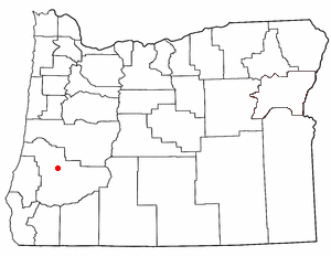 Loko di Sutherlin, Oregon