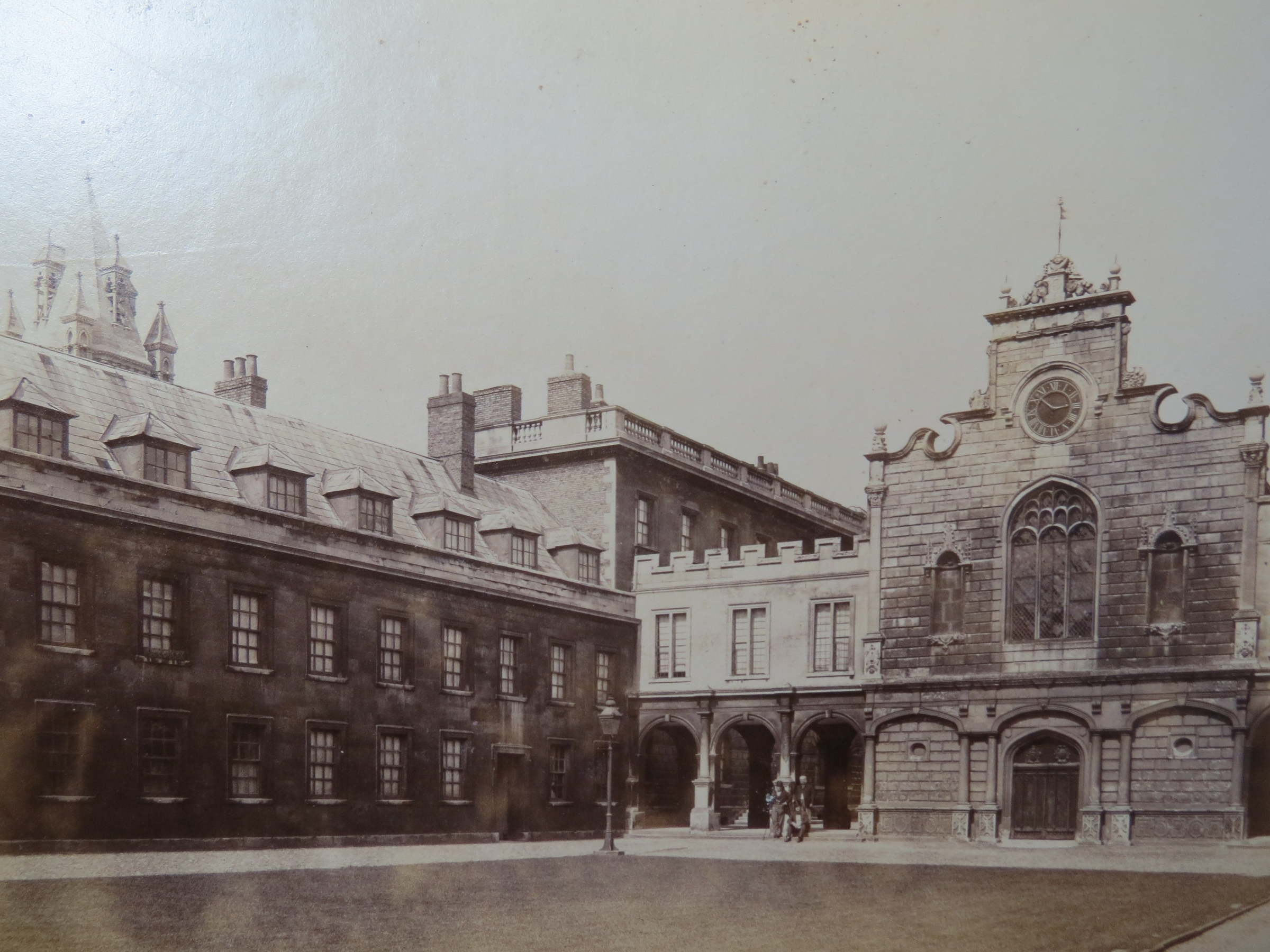 File Old Court Peterhouse Cambridge C1870 Jpg