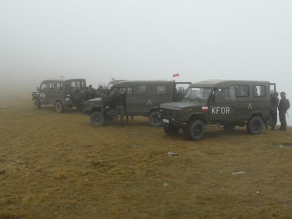 Polscy żołnierze KFOR