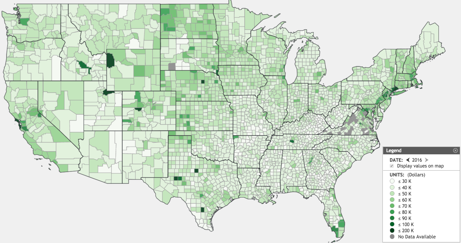 List Of Highestincome Counties In The United States Wikiwand - Us zip codes ranked by income