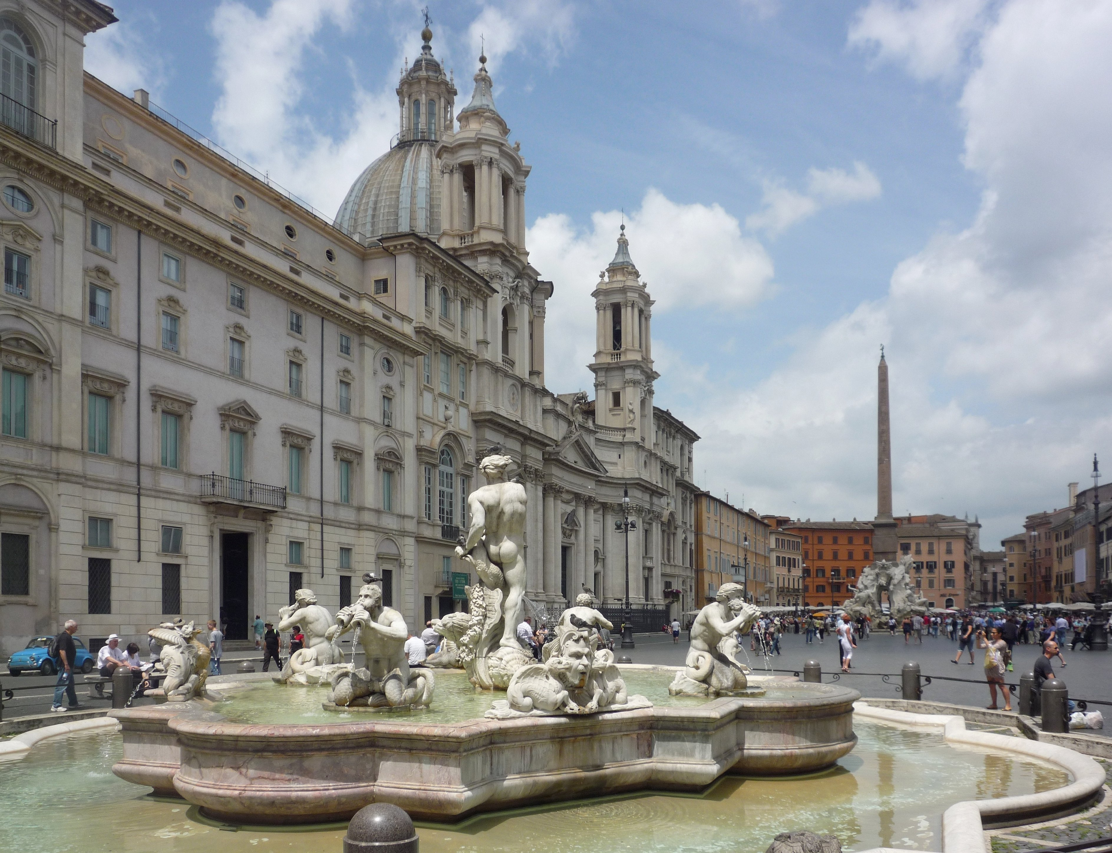 Image result for Piazzo Navona rome
