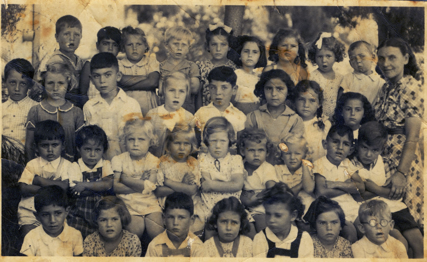 גן בלה  1942 שטמפפר, פתח-תיקווה