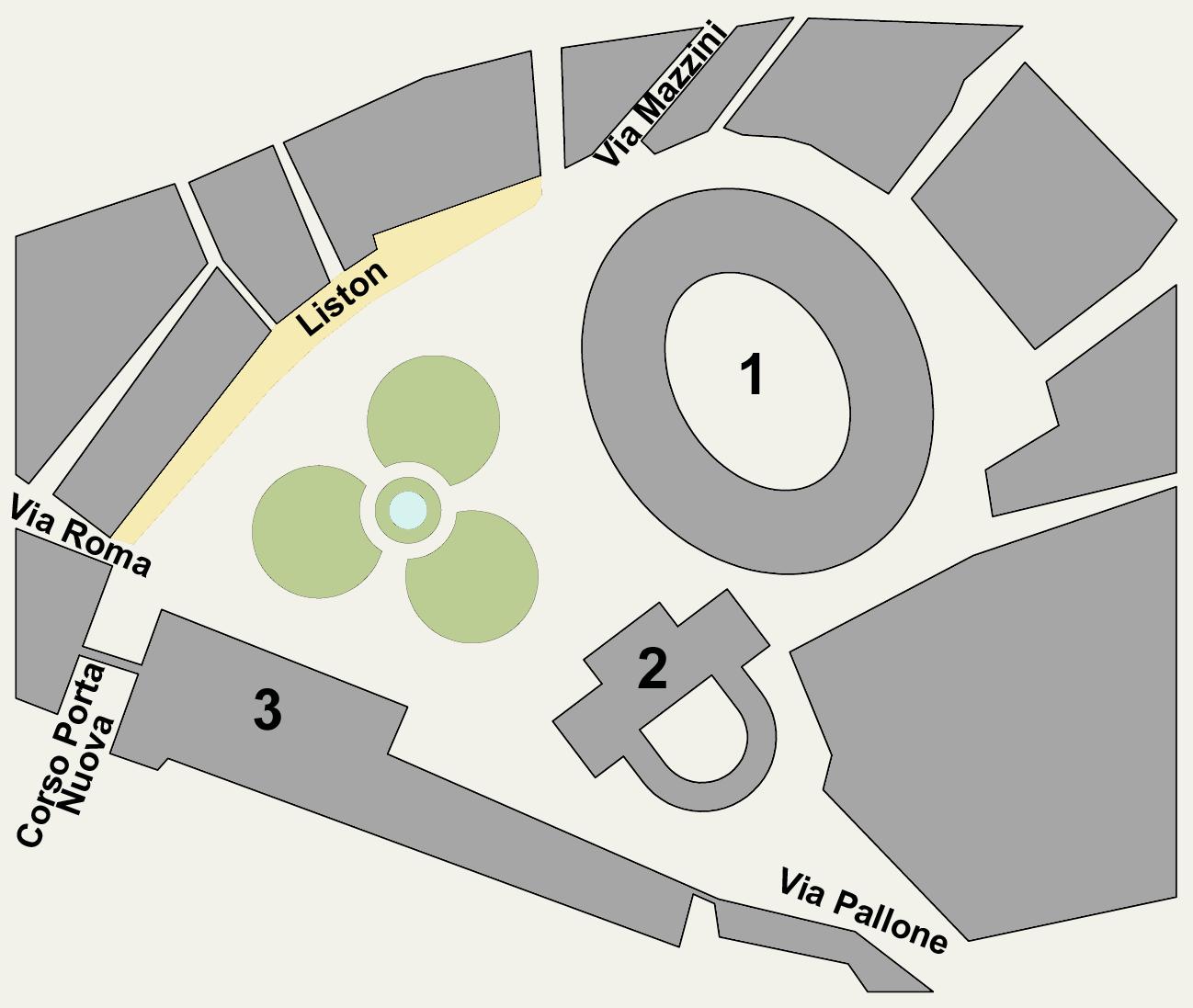 L Angolo Per L Ufficio Bra.Piazza Bra Wikipedia