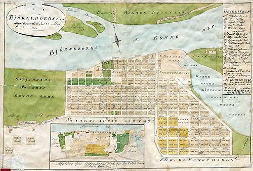 Tiedosto Porin Kartta 1852 Jpg Wikipedia