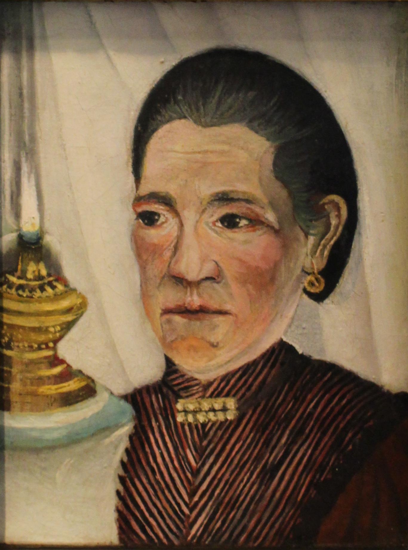 File:Portrait de la seconde femme de l\'artiste - Henri Rousseau ...