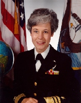 Patricia Ann Tracey United States admiral