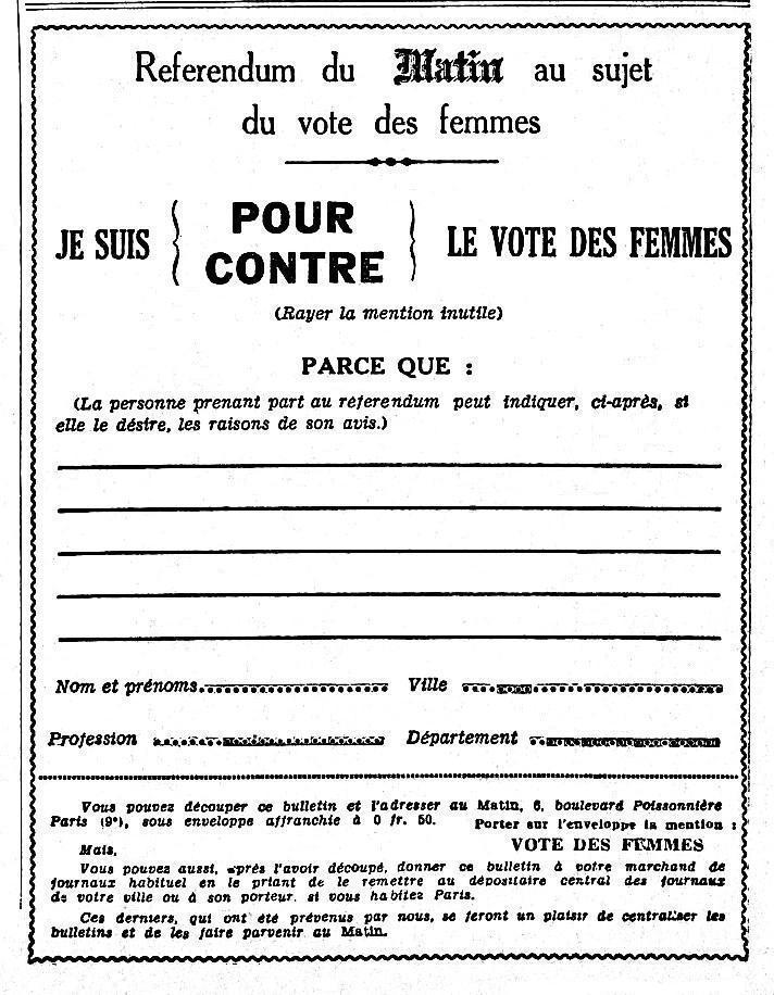 file r ferendum droit de vote des femmes le matin 25 mars wikimedia commons. Black Bedroom Furniture Sets. Home Design Ideas