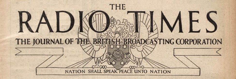 Masthead from the edition of 25 December 1931 of the ''[[Radio Times