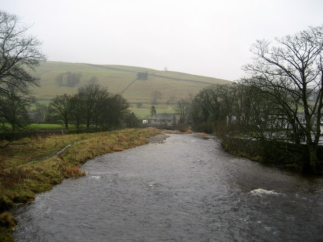 River Wharfe at Kettlewell - geograph.org.uk - 658605