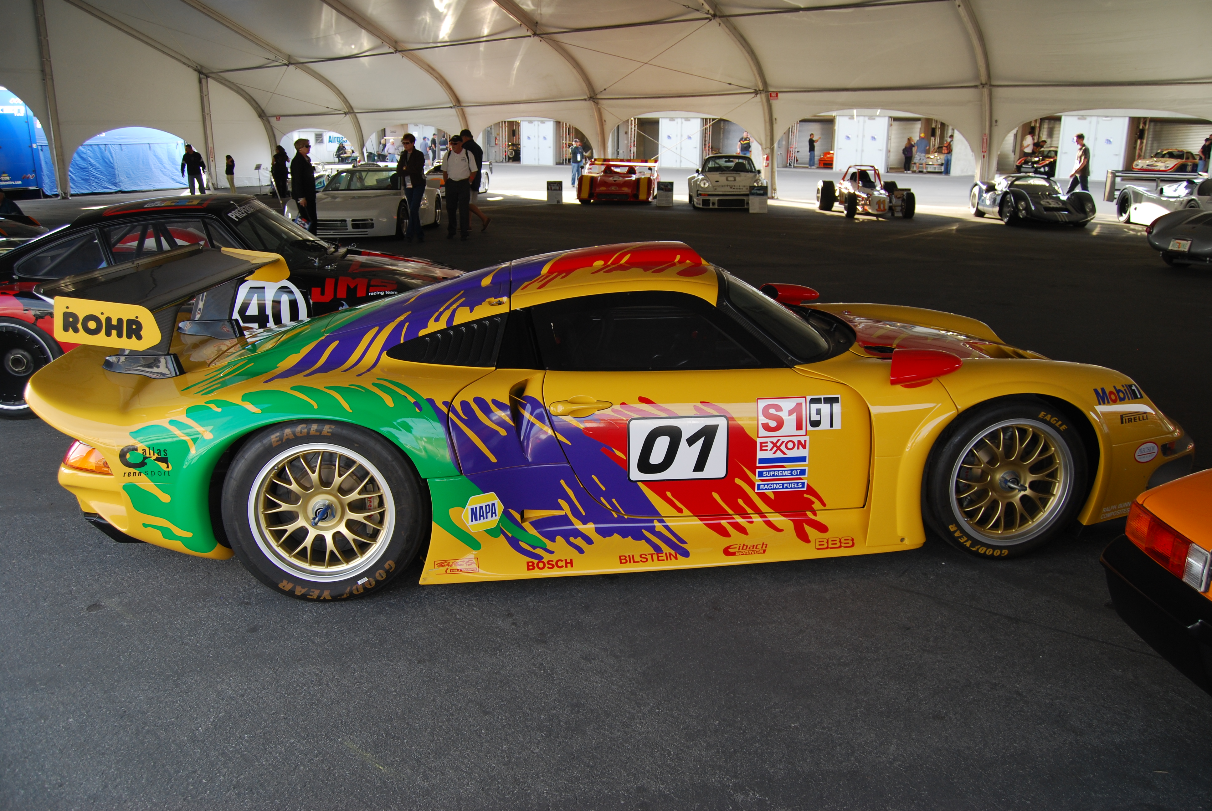 Rohr_911_GT1_1996_(6283353306) Breathtaking Autoart Porsche 911 Gt1 Review Cars Trend
