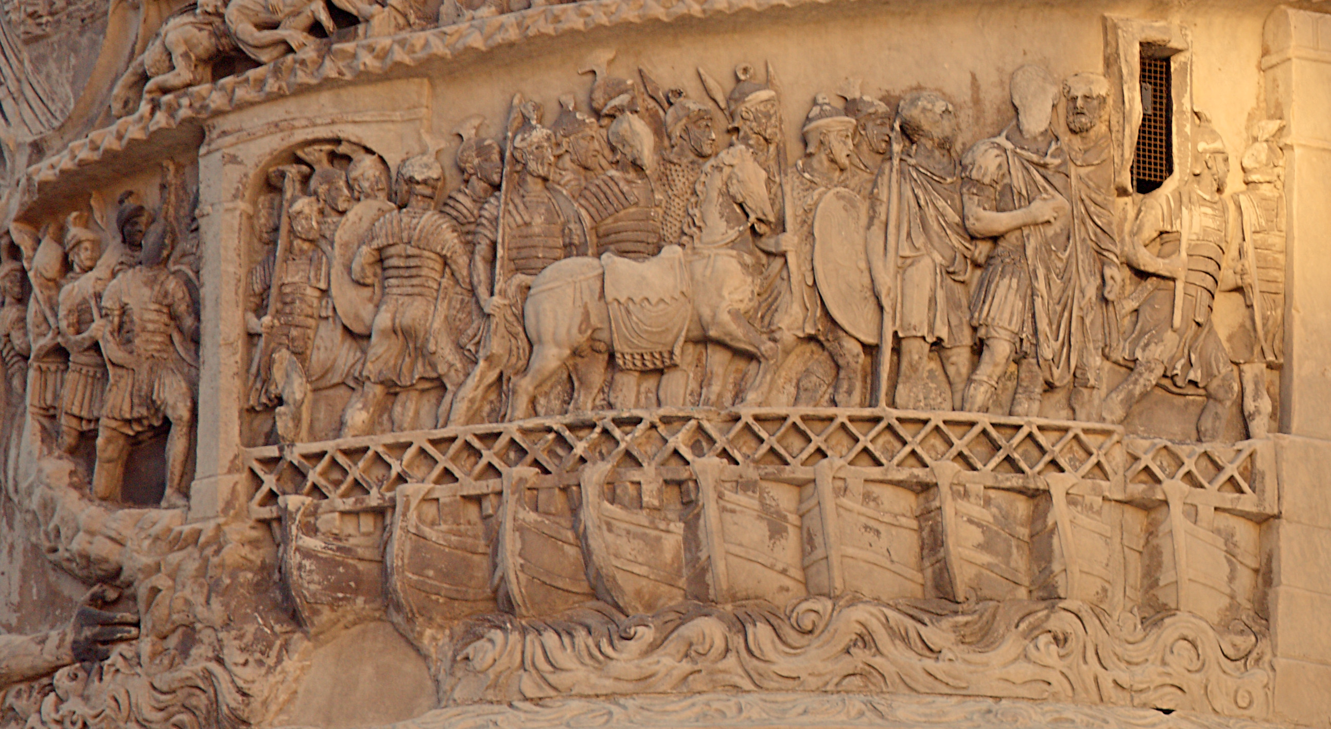 http://upload.wikimedia.org/wikipedia/commons/7/7f/Roman_Pontoon_Bridge%2C_Column_of_Marcus_Aurelius%2C_Rome%2C_Italy.jpg
