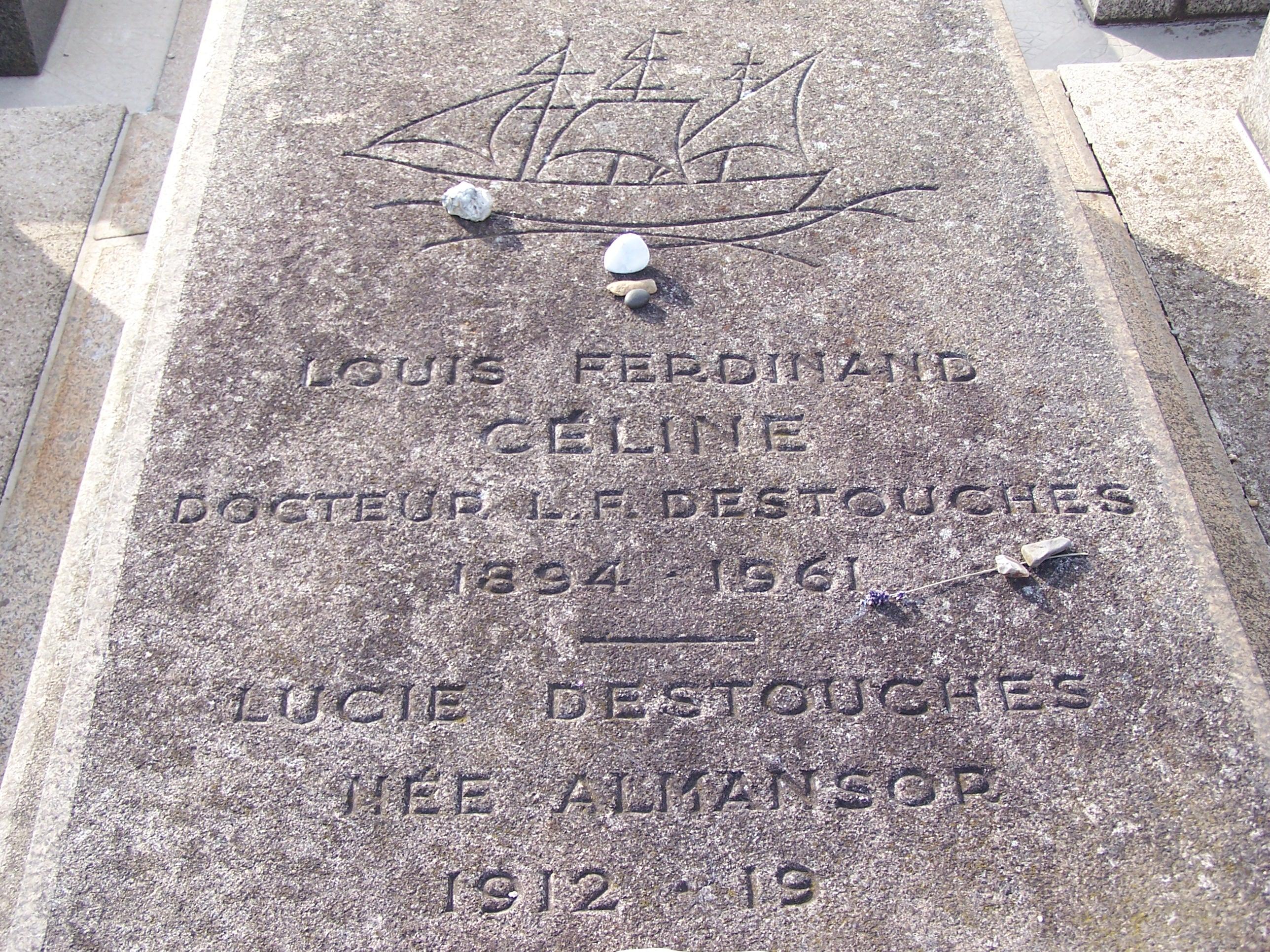 Sépulture Louis-Ferdinand Céline 1.JPG