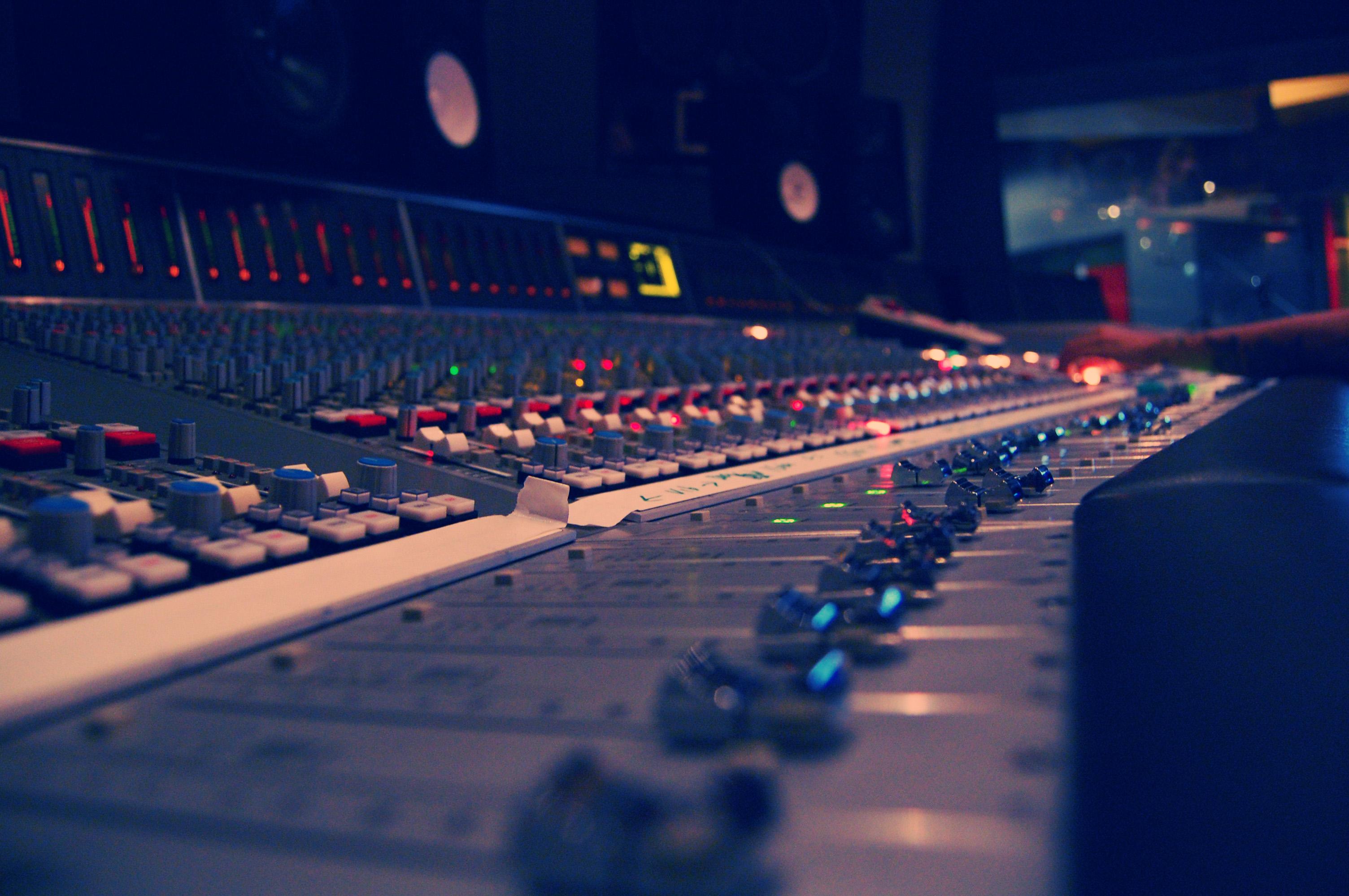 Cool Music Studio Interior Design