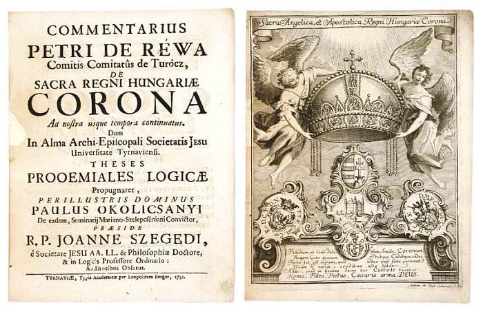 De Sacra Regni Hungariae Corona