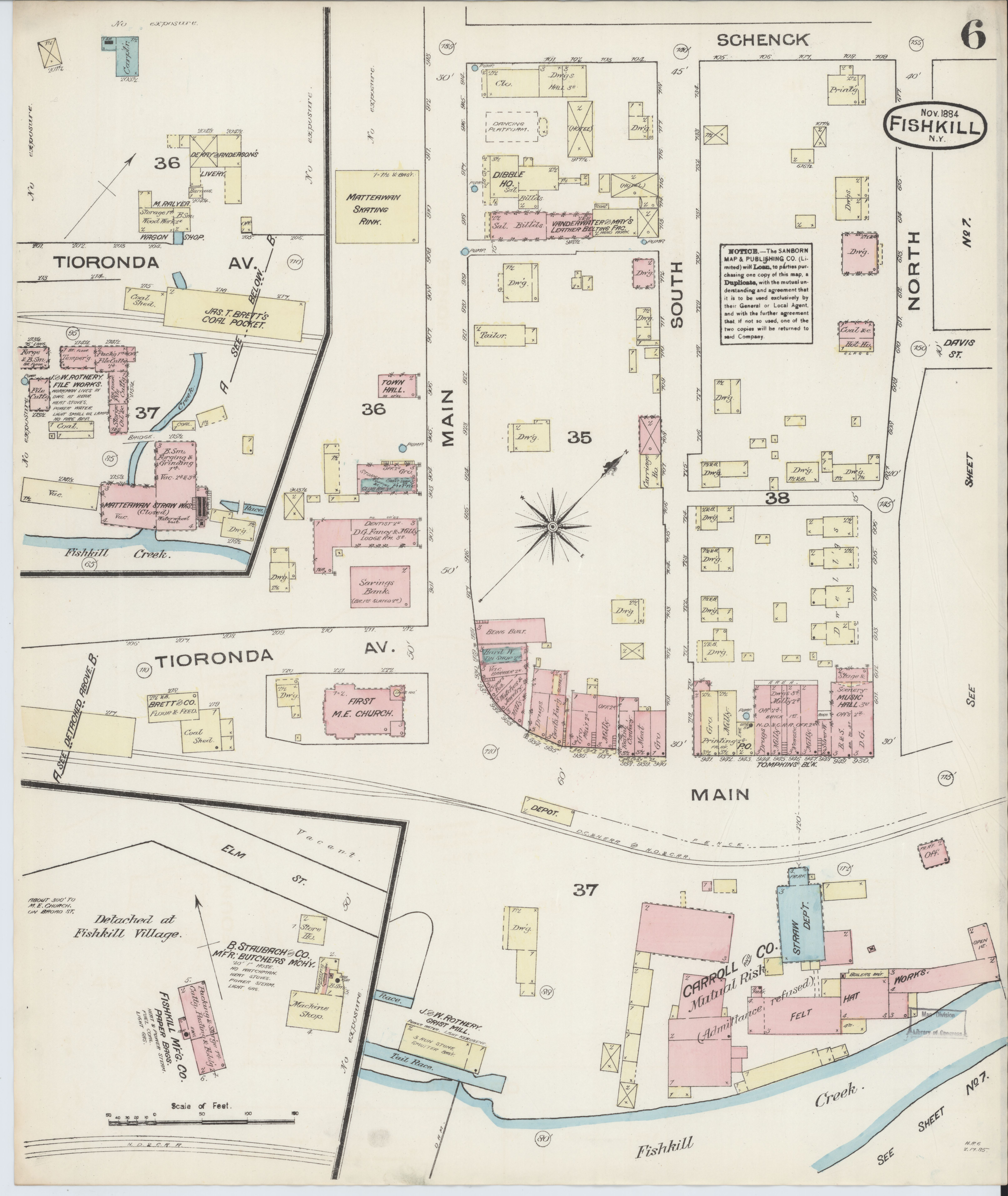 File Sanborn Fire Insurance Map From Fishkill On The Hudson