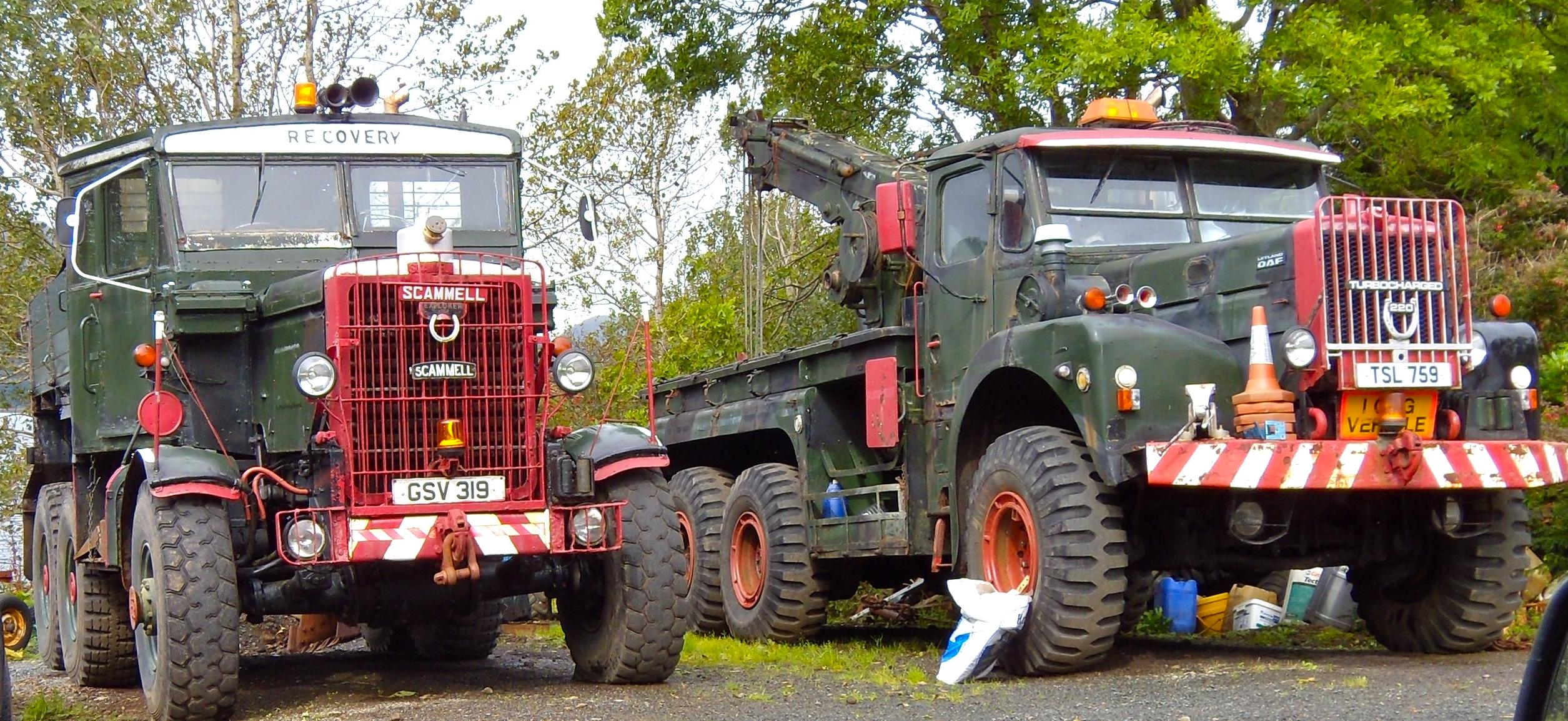 File Scammell Explorer Mull And Daf Leyland 220 Mull 2009