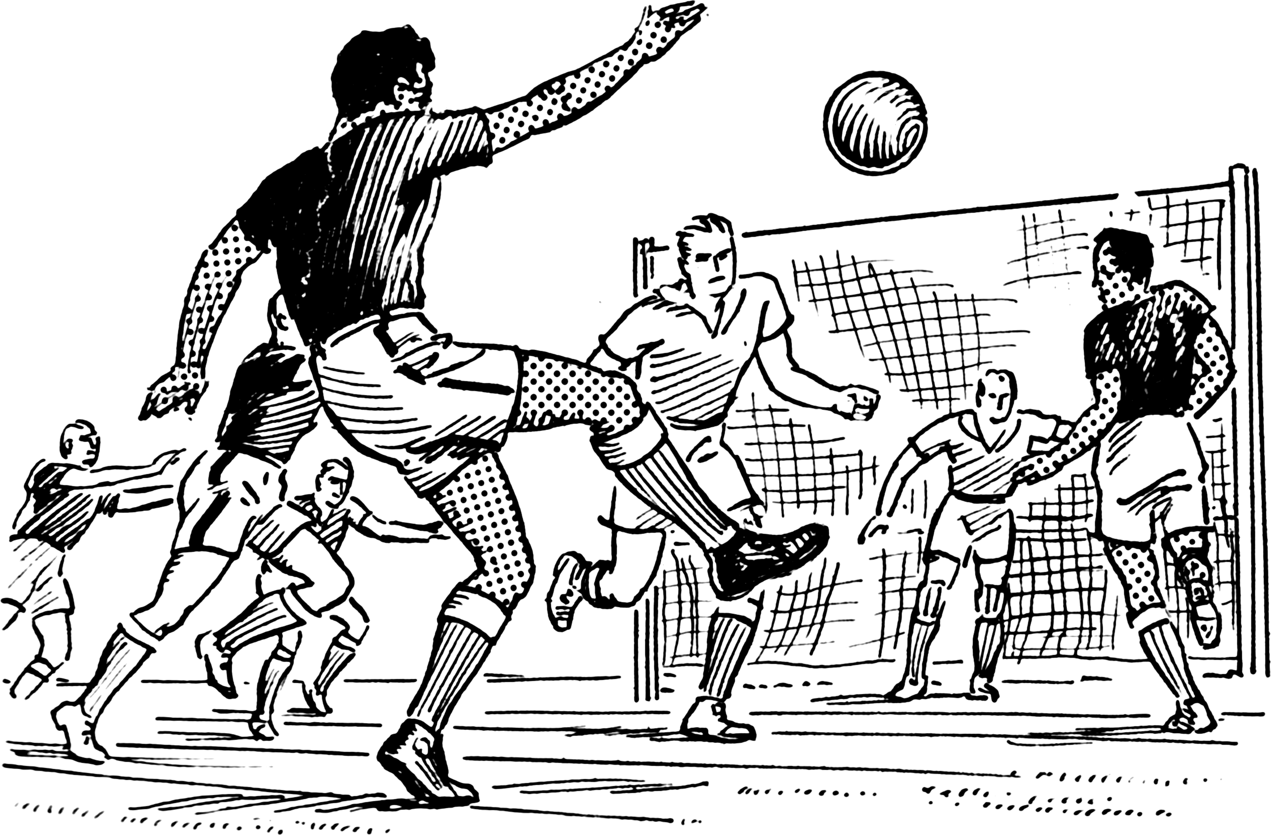 Football Players Coloring Pages Print
