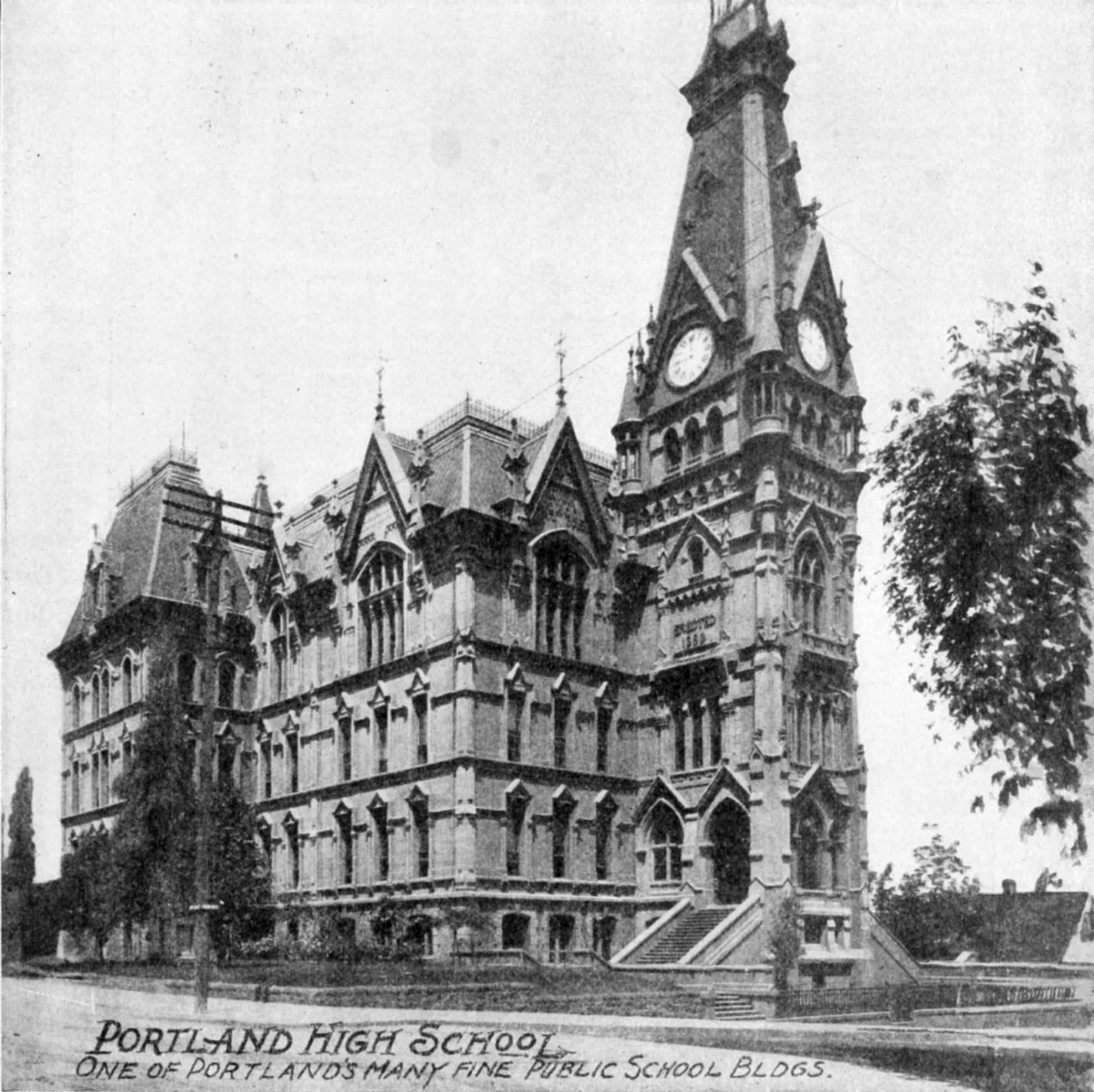 Souvenir of Western Women 0105 Portland High School.png