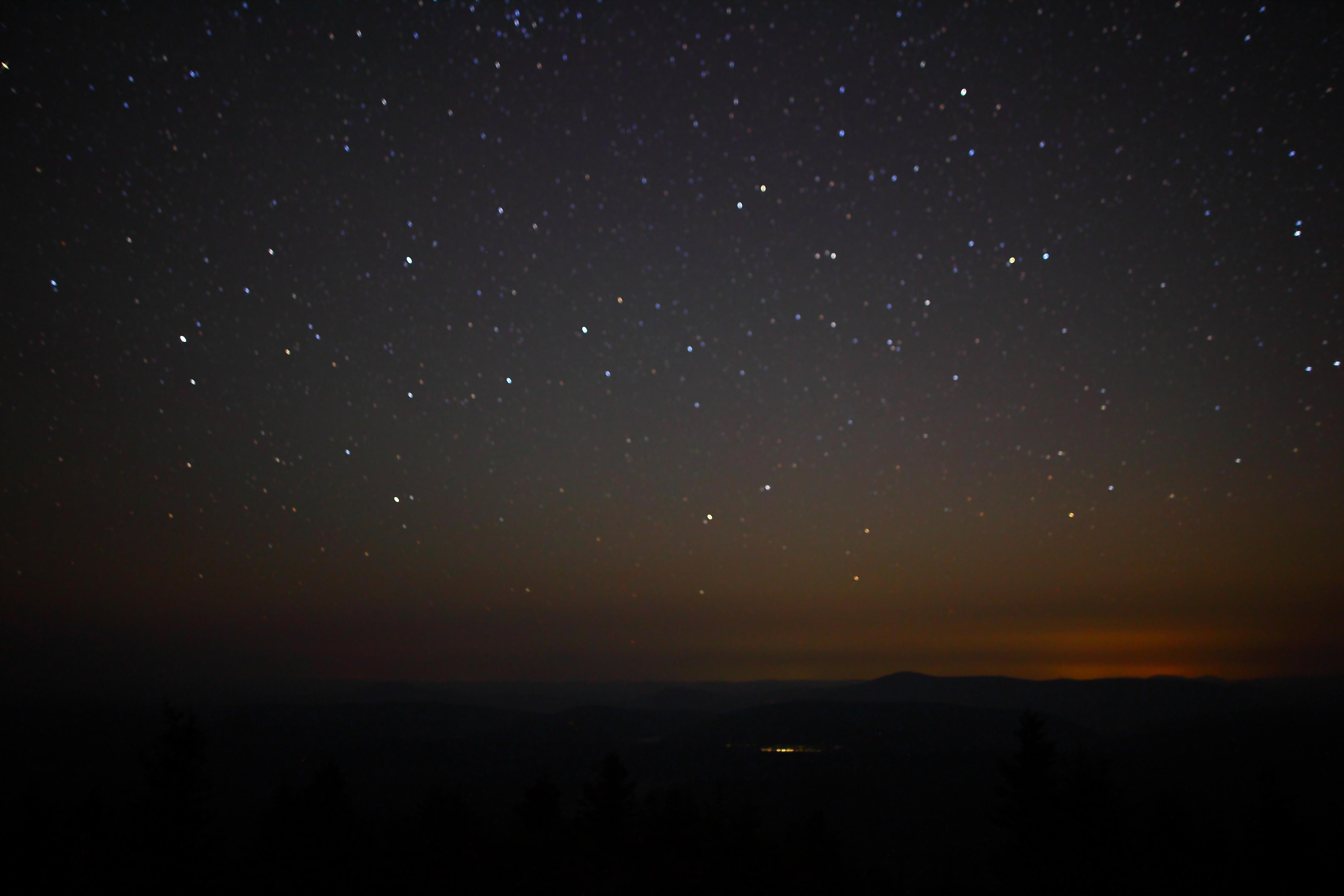 stars mountain night - photo #35