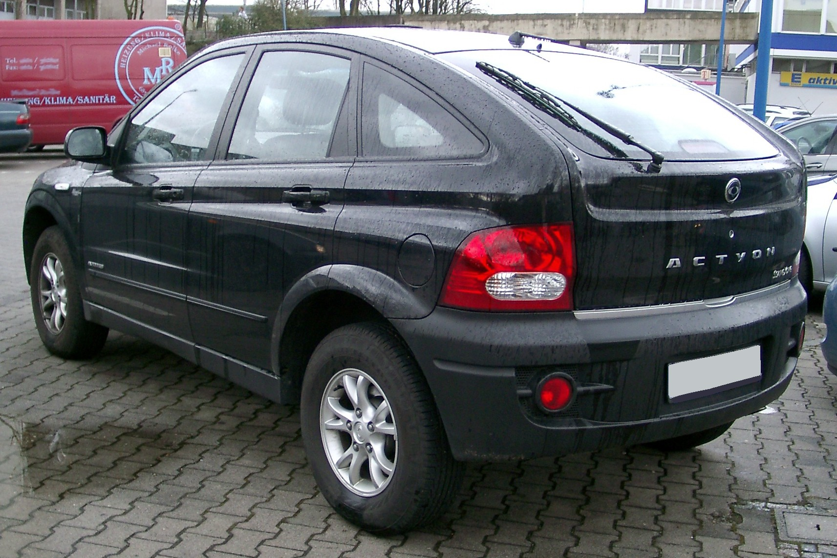File Ssangyong Actyon Rear 20080303 Jpg Wikimedia Commons