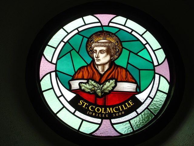 https://commons.wikimedia.org/wiki/File:Stained_glass_in_Leitir_Beara_church_-_geograph.org.uk_-_856701.jpg