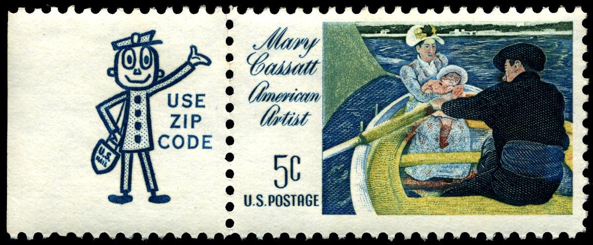 ¡Mr. ZIP aparece en un sello de Correos!