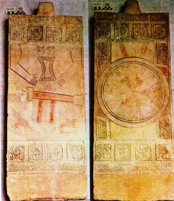 Risultati immagini per stele daunie