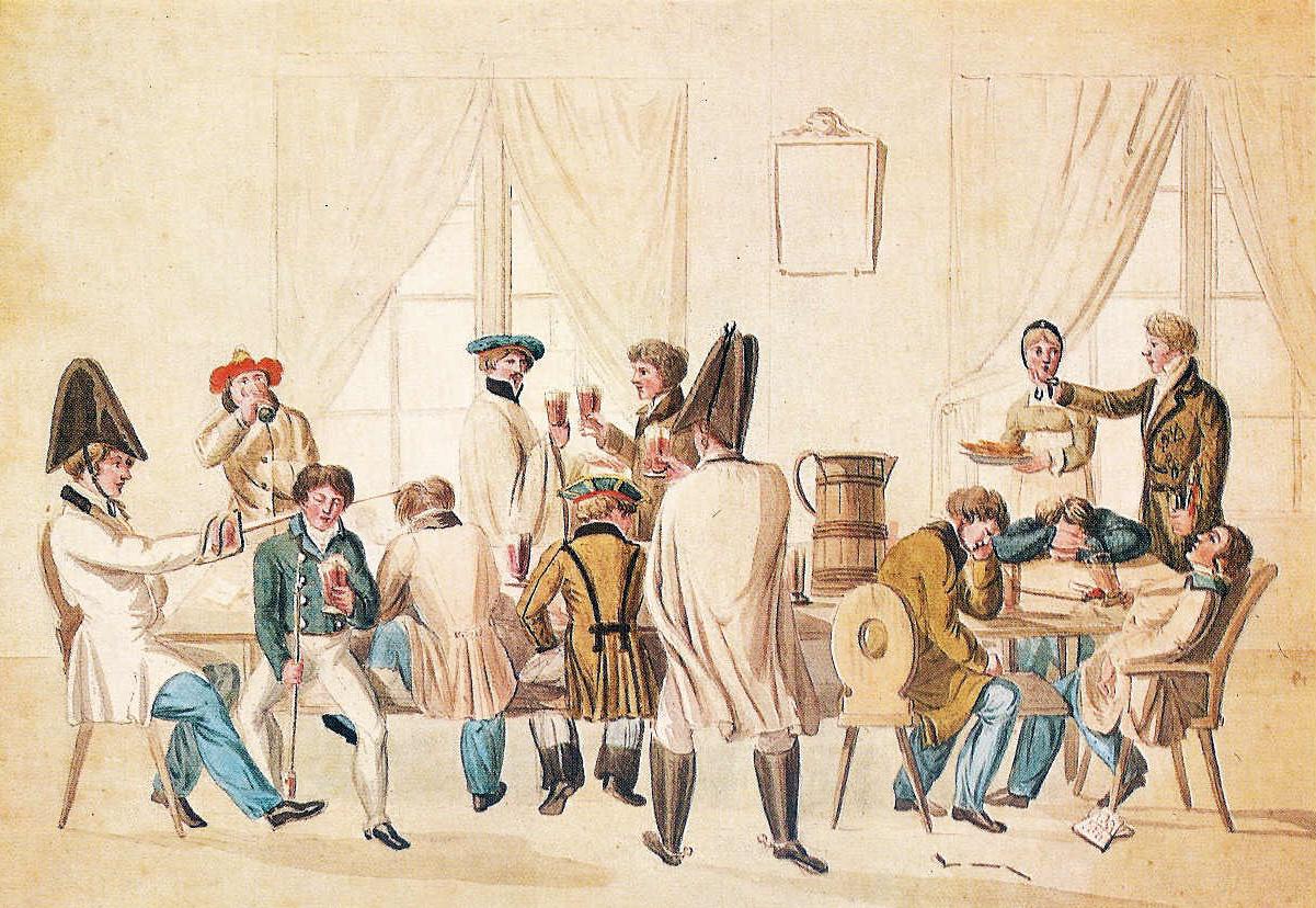 File:Studentische Kneipszene um 1810.jpg