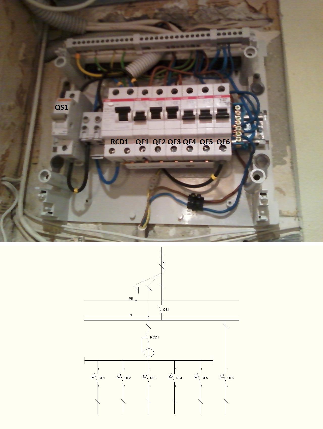Rcd Circuit Breaker Wiring Diagram