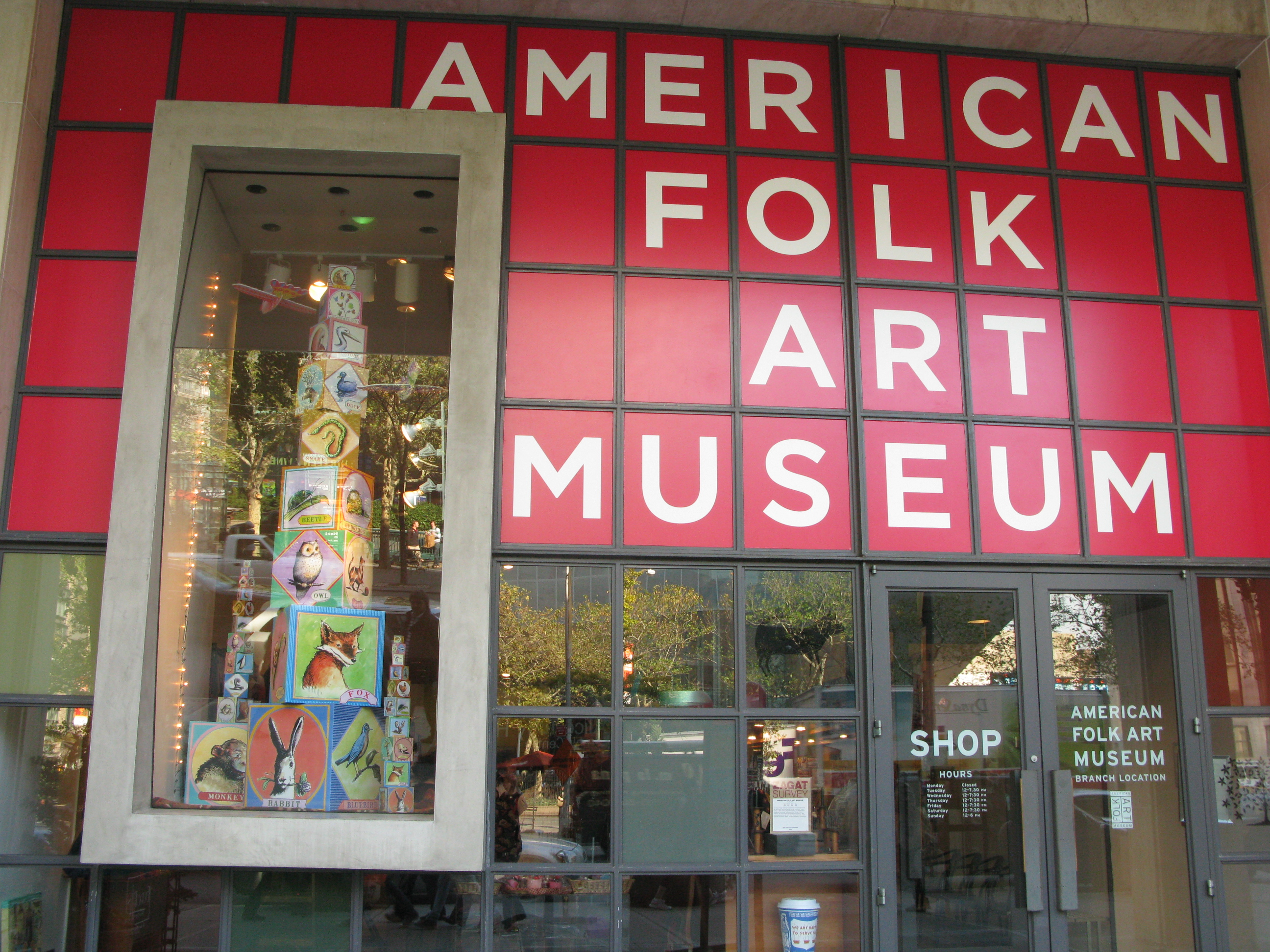 Image result for folk art museum new york