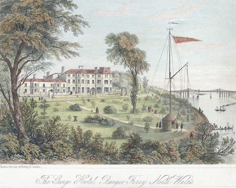 File The George Hotel Bangor Ferry North Wales Jpeg