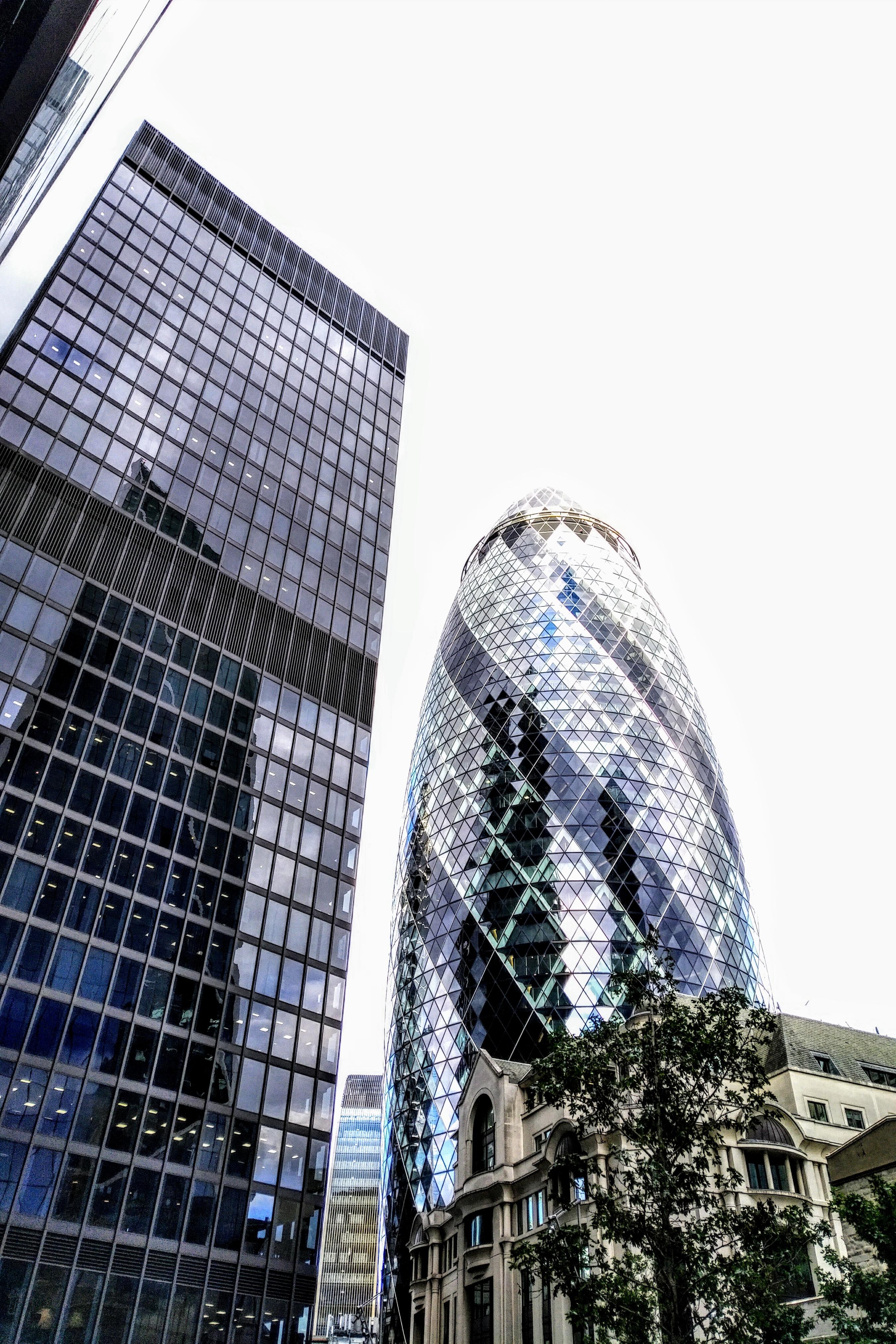Gherkin Building London - 2b1radio