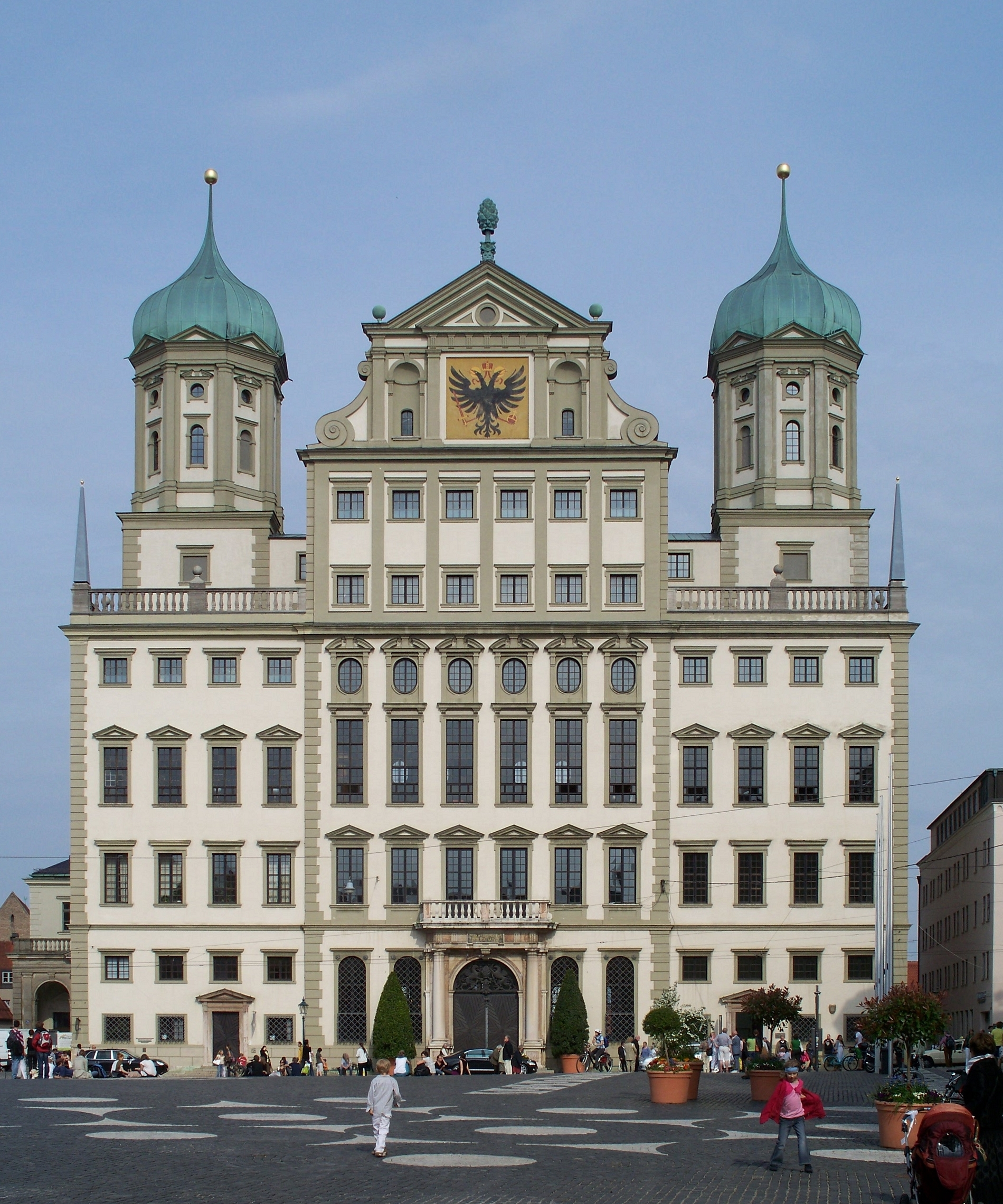 rathaus augsburg wikipedia. Black Bedroom Furniture Sets. Home Design Ideas