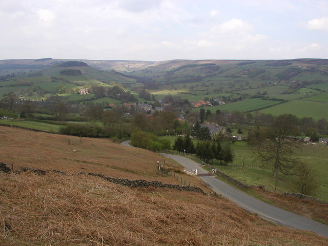 The view towards Rosedale Abbey - geograph.org.uk - 278515