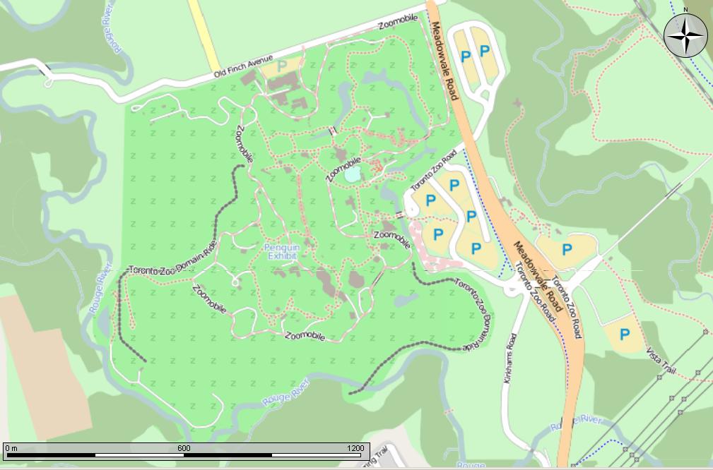 Toronto Zoo Domain Ride : TOmaps  Toronto Zoo Map 2017