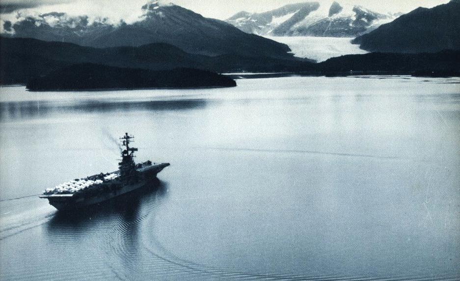 file uss bennington cvs 20 off alaska in august 1963 jpg