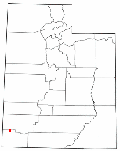 Location of Enterprise, Utah