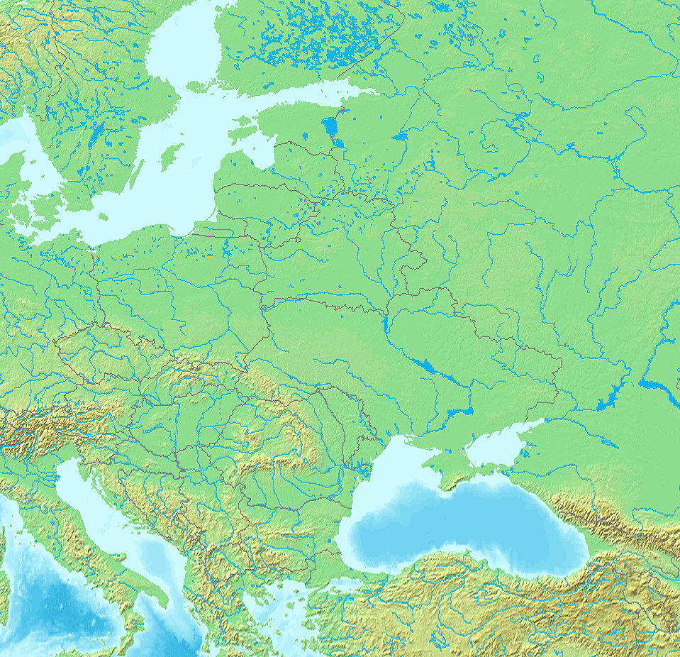 Eastern Europe Wikipedia – Geographical Map of Eastern Europe