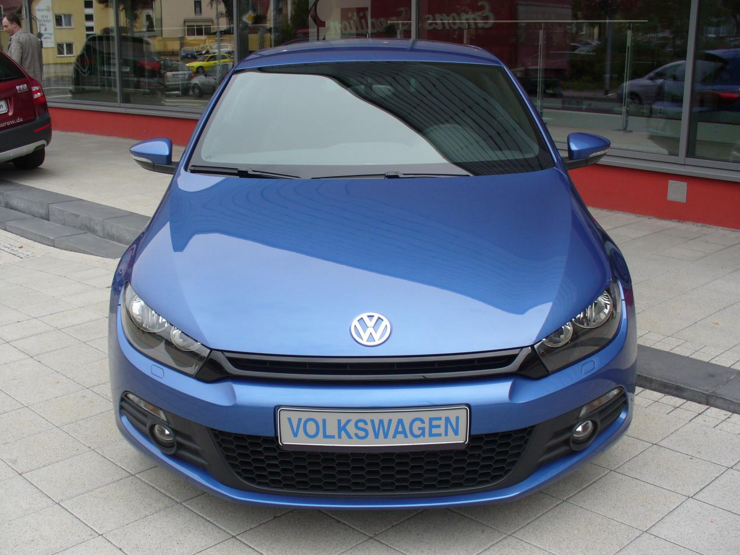 file vw scirocco iii sport 1 4 tsi risingblue front jpg. Black Bedroom Furniture Sets. Home Design Ideas